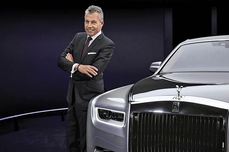 Torsten Müller-Ötvös, CEO, Rolls-Royce Motor Cars.