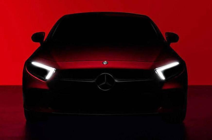 Next-gen Mercedes CLS previewed before LA debut