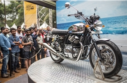 Royal Enfield 650 Twins showcased at 2017 Rider Mania