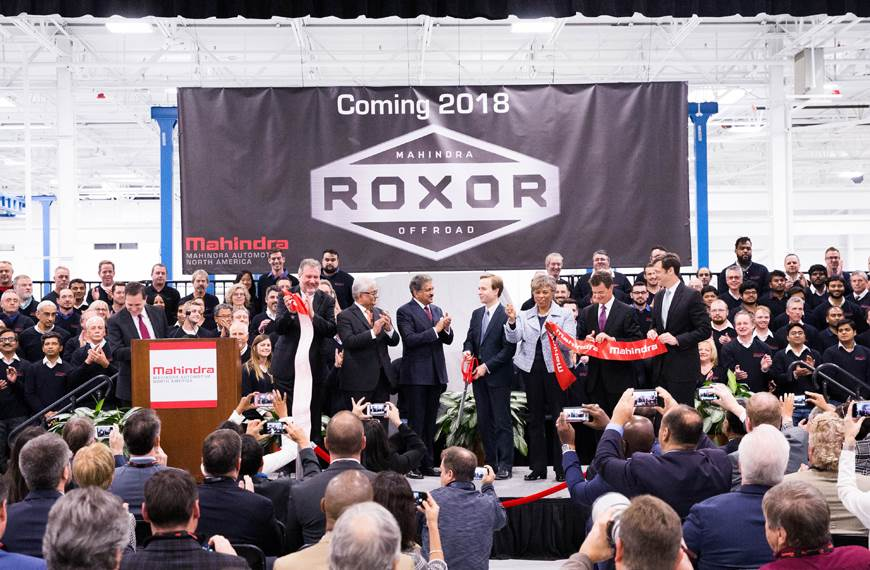 Mahindra inaugurates new manufacturing plant in the USA