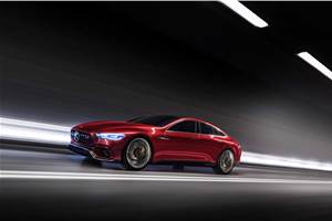 816hp Mercedes-AMG GT four-door to rival Panamera