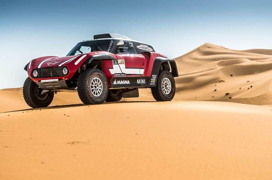 RWD Mini Cooper JCW Buggy targets Dakar Rally win