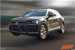 Next-gen Volkswagen Touareg spied in China