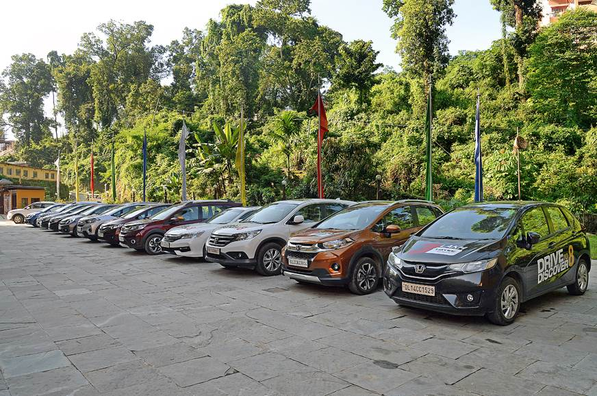 The fleet of Honda Cars get a much deserved rest before c...