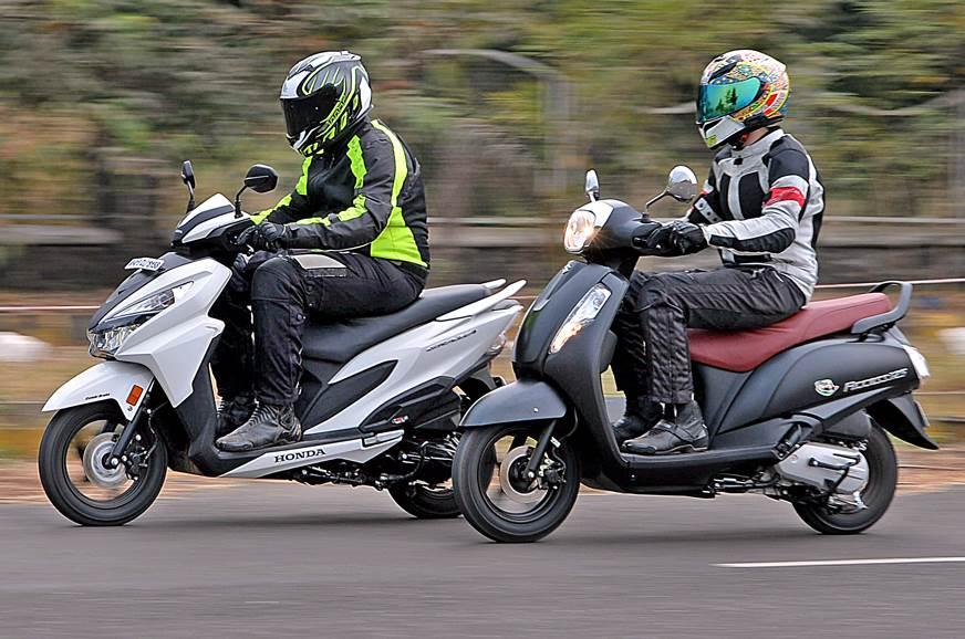 2017 Honda Grazia vs Suzuki Access 125 comparison