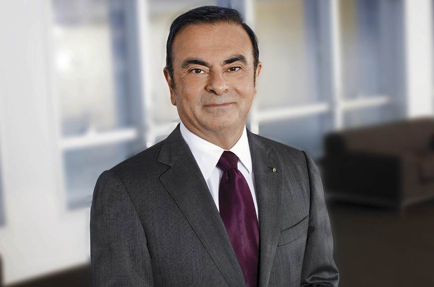 Carlos Ghosn, Renault Chairman and CEO.