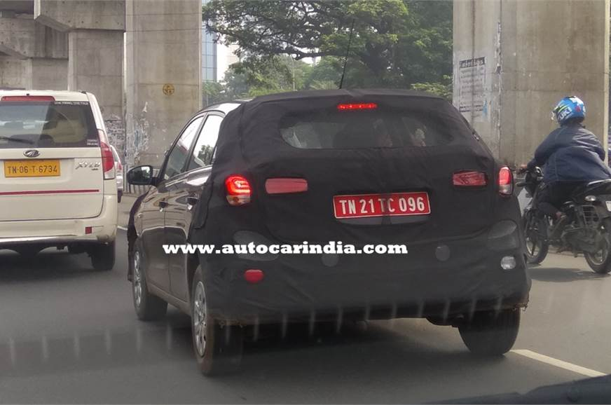 The Hyundai i20 facelift expected to arrive at the Auto E...