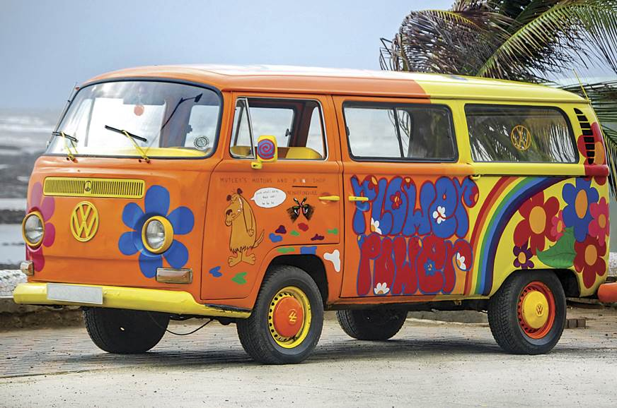 Travelling with mates in an iconic camper van can be fun.