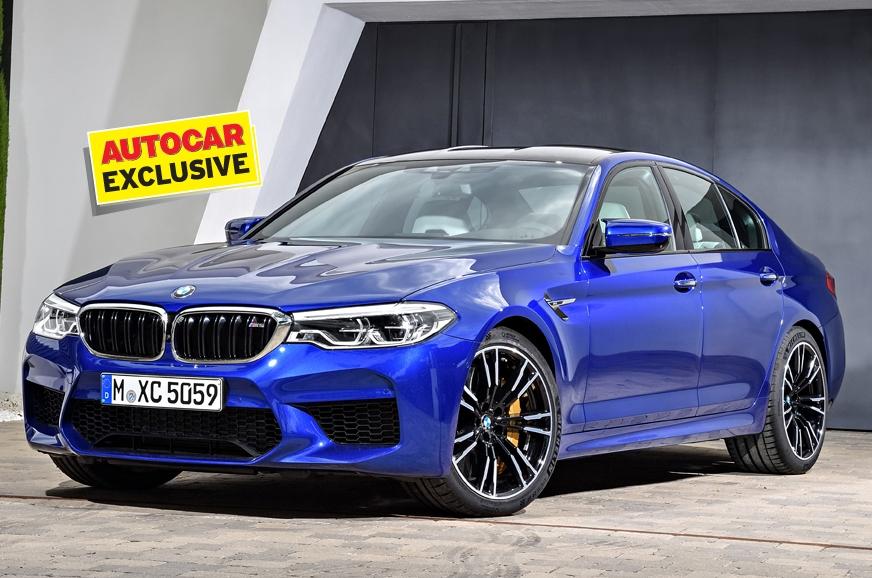 The BMW M5.