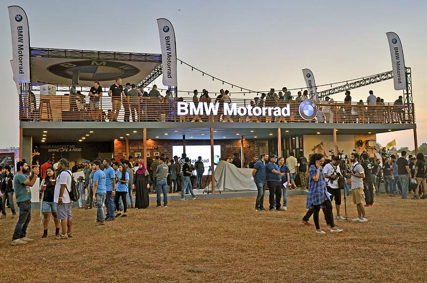 BMW Motorrad in full show at IBW 2017.
