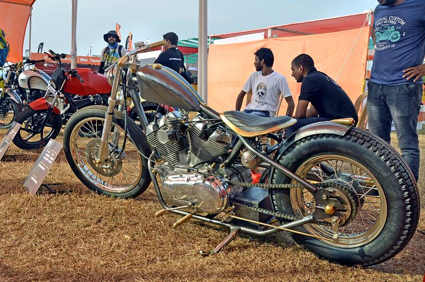 Beautiful Carberry-powered custom motorcycle by Rag & Bones.