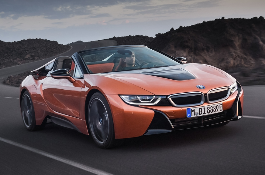 The new i8 Roadster.