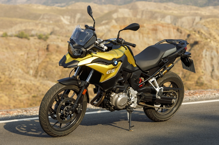 The BMW F 750 GS.