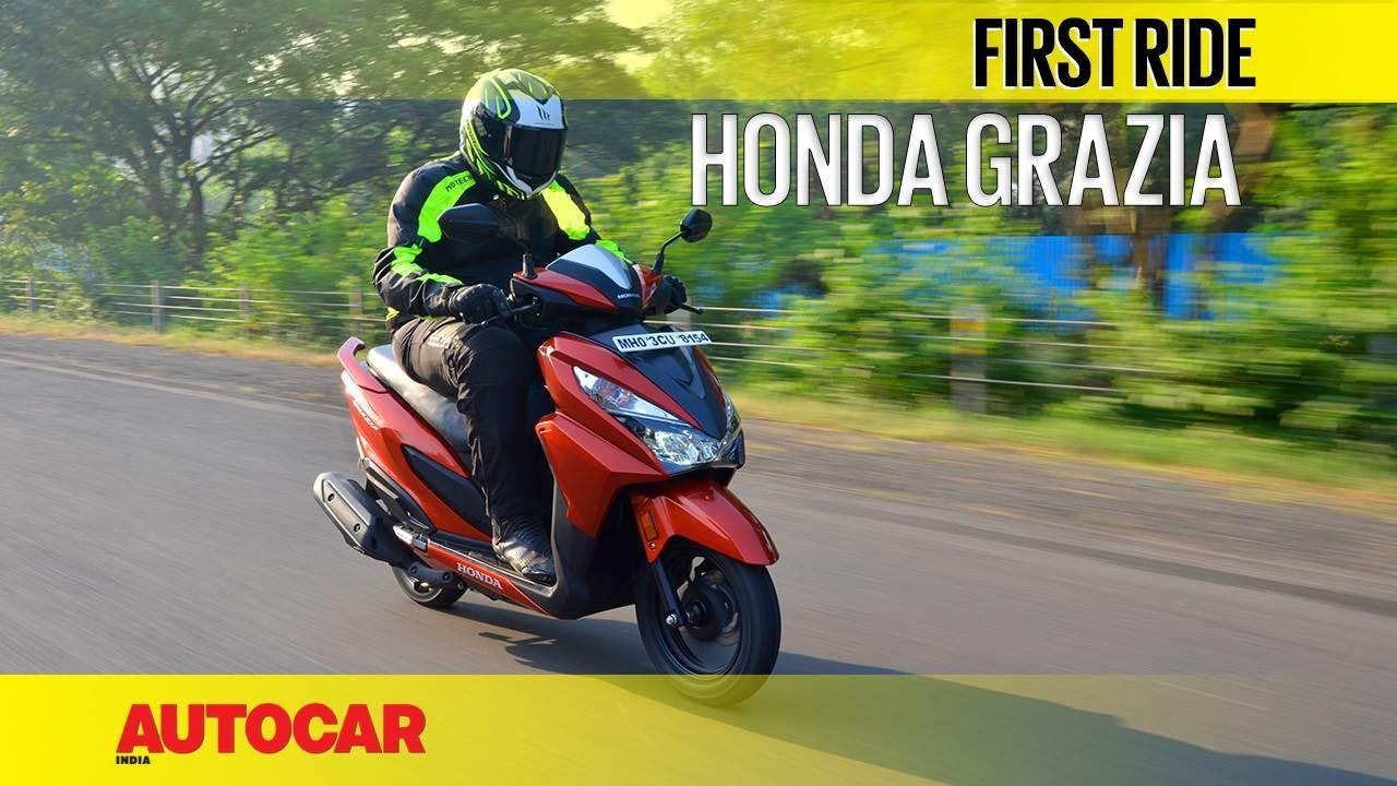 2017 Honda Grazia video review