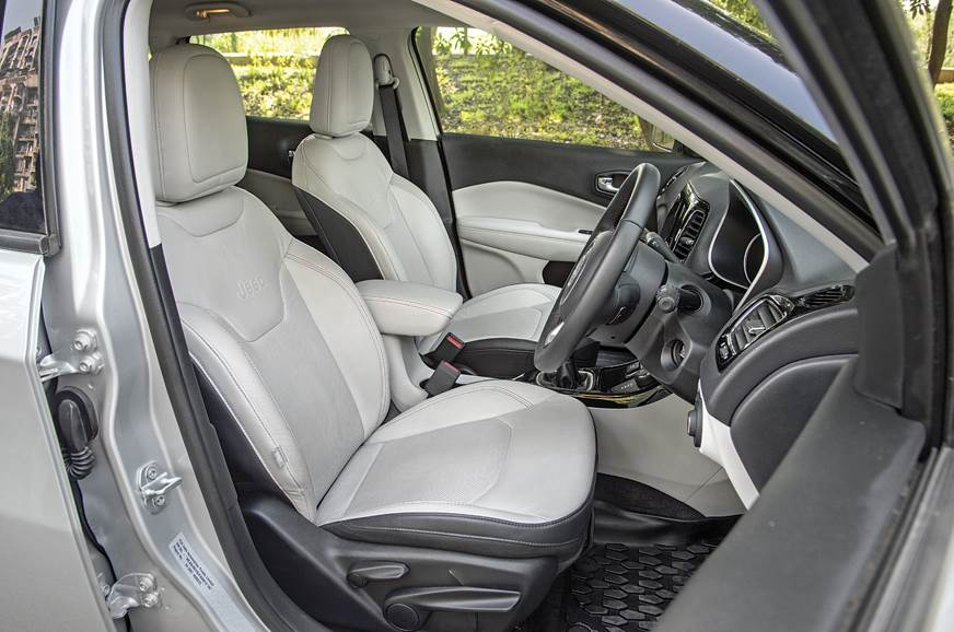 Front seats not only look stylish but are also very comfo...