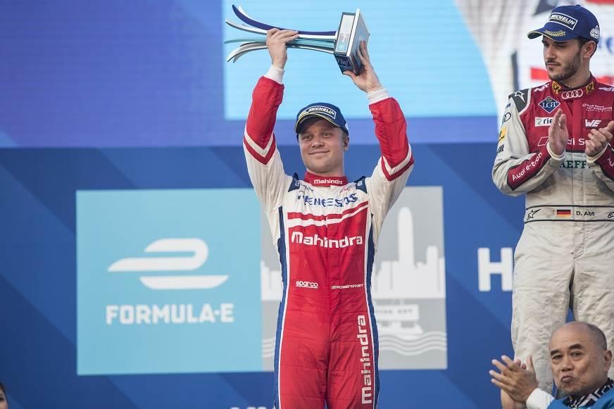 Hong Kong ePrix: Mahindra take victory following Abt's disqualification