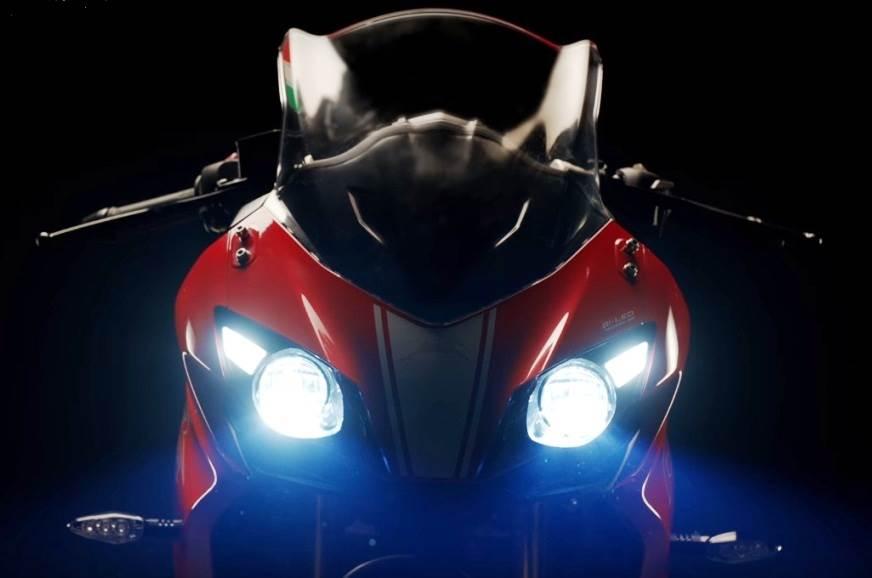 TVS teases new Apache RR 310 sport bike