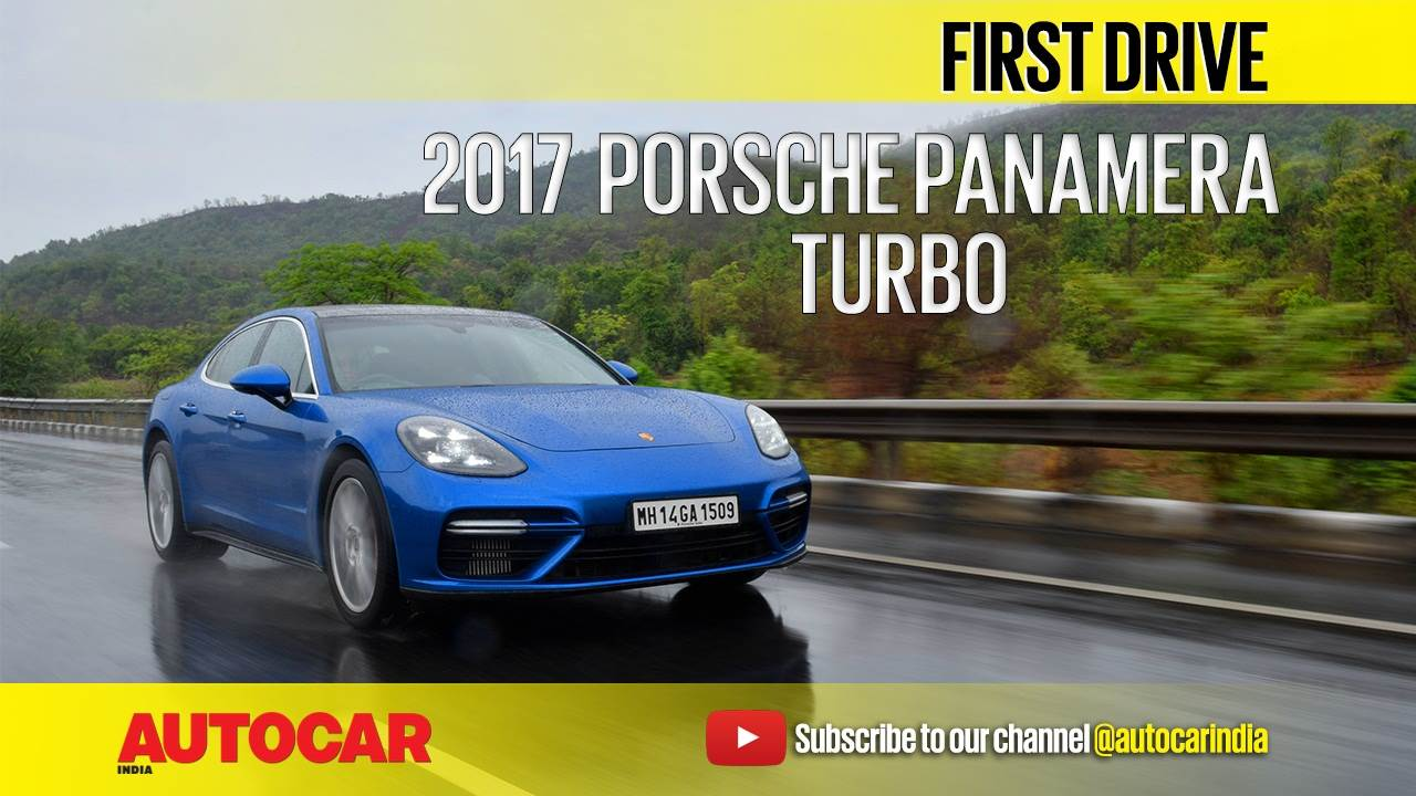 2017 Porsche Panamera video review