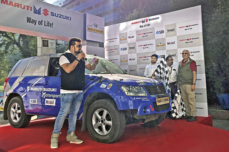 All rally cars and bikes were flagged off in Manali on th...