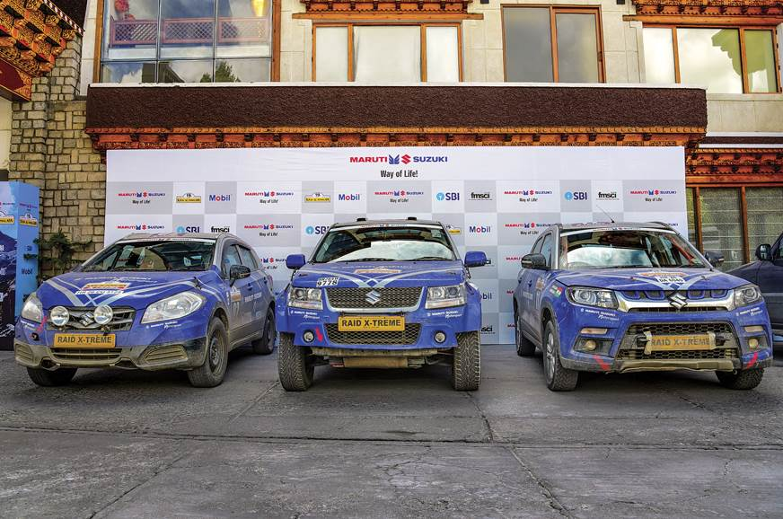 Team Maruti Suzuki Motorsport's cars look distinct and fr...