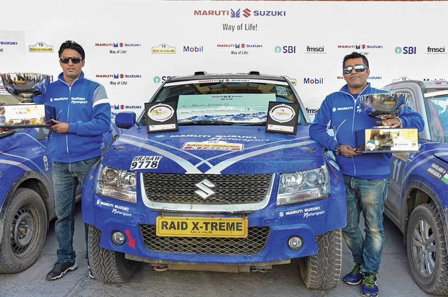 Suresh Rana and PVS Murthy bagged first place with a near...