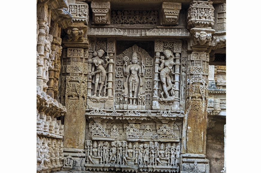 The pristine carvings in the Vav are nearly 1,000-years old.