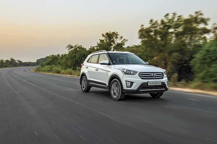 The Creta was immensely comfortable and composed on the w...