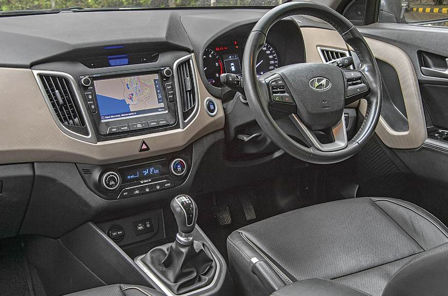 The Creta's dashboard is aesthetically and functionally p...