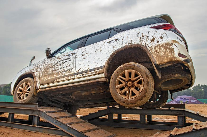 Impressive articulation thanks to the Fortuner's Sigma 4 ...