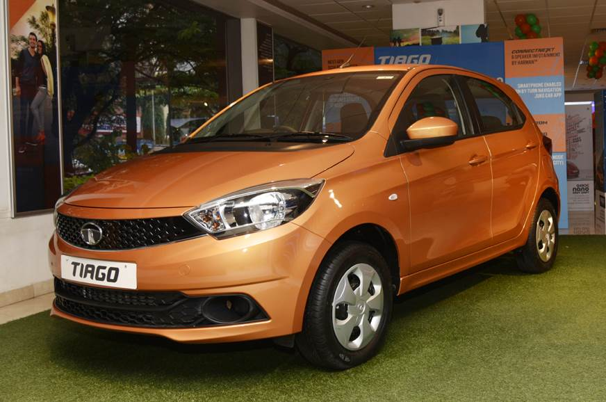 Up to Rs 26,000 is being offered on the Tiago hatchback.