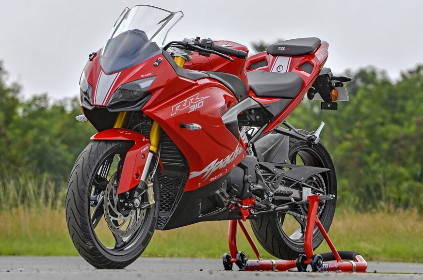 The Apache RR 310 is the first fully faired motorcycle fr...