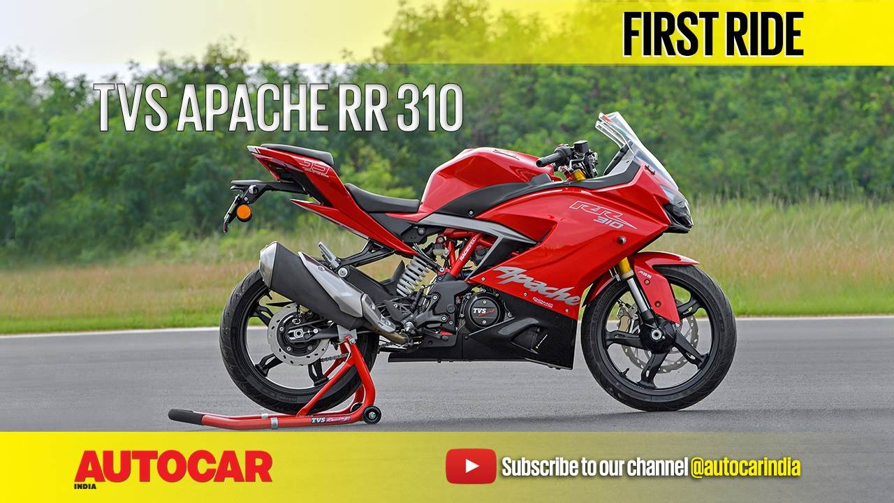 2018 TVS Apache RR 310 video review