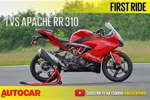 2018 TVS Apache RR 310 video review