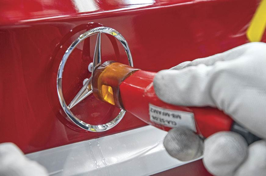 Guests can tailor-make their Mercedes at the Centre.