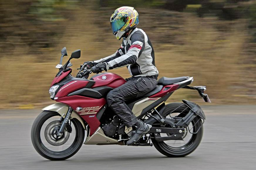 2017 Yamaha Fazer 25 review, test ride