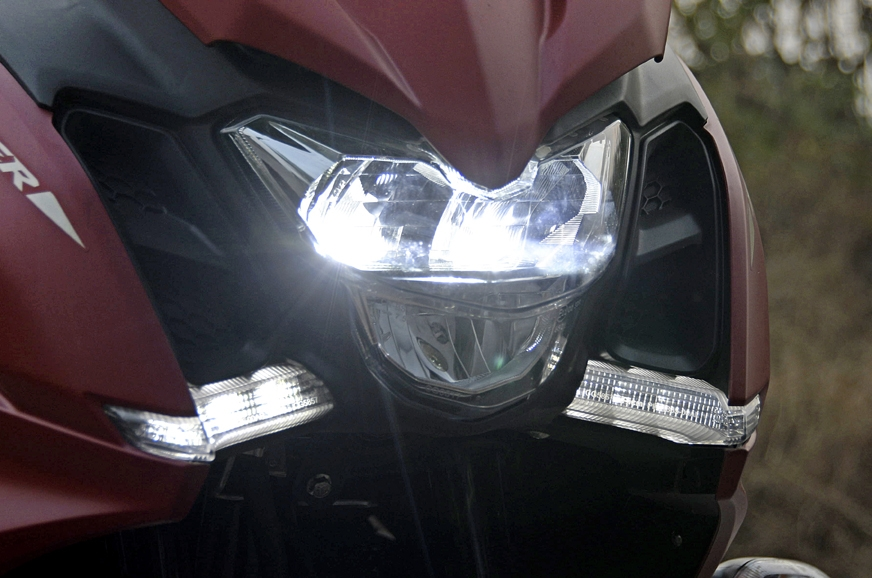 Twin LED DRLs are bright and look upmarket.