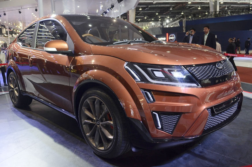 The Mahindra XUV Aero concept that was displayed at the A...