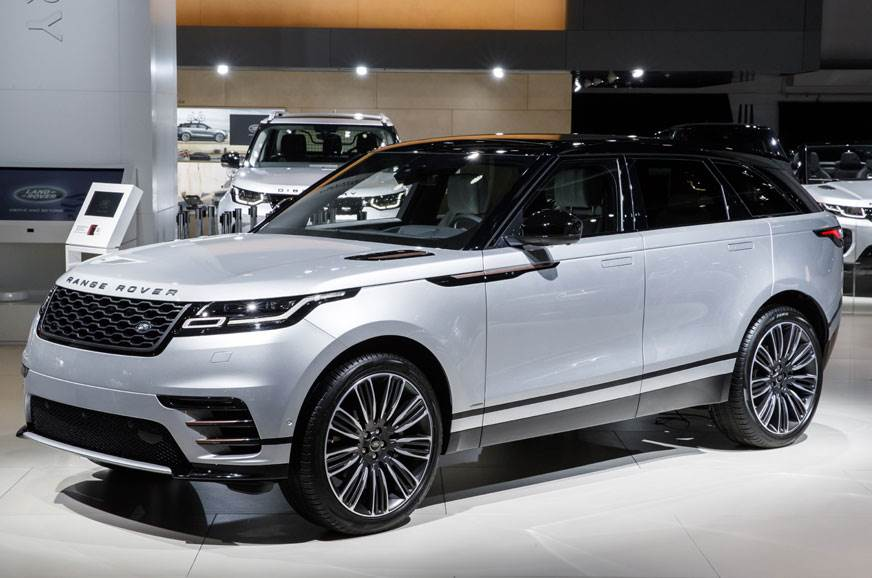 The recently launched Range Rover Velar.