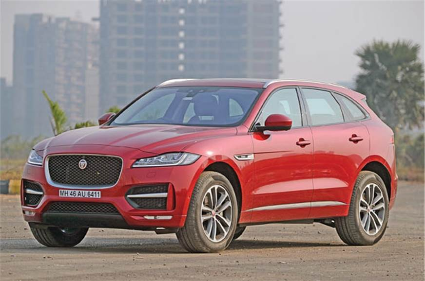 Jaguar's F-Pace to benefit from new engine.