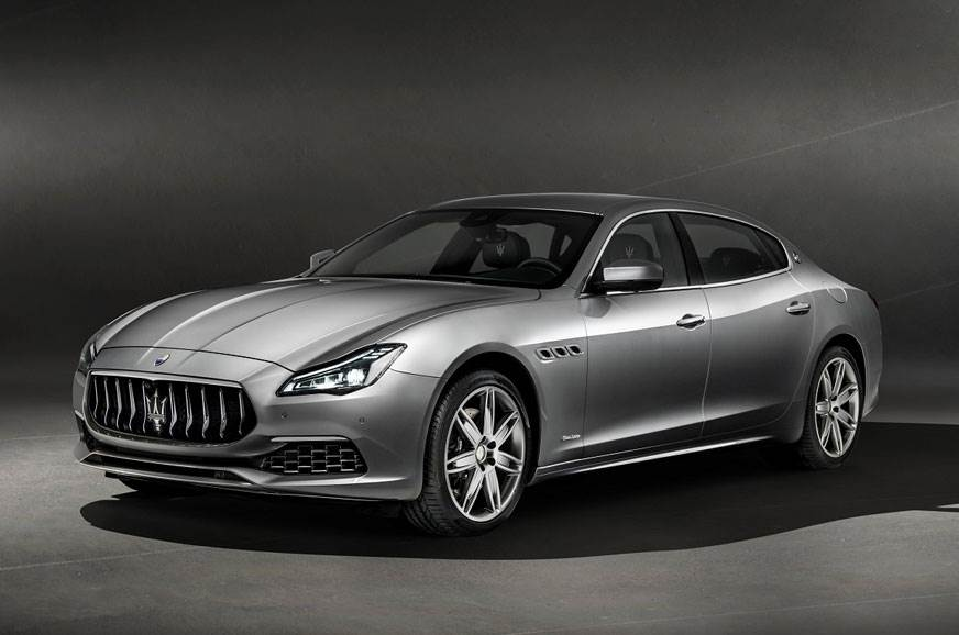 Maserati's Quattroporte GTS  in the GranLusso trim.