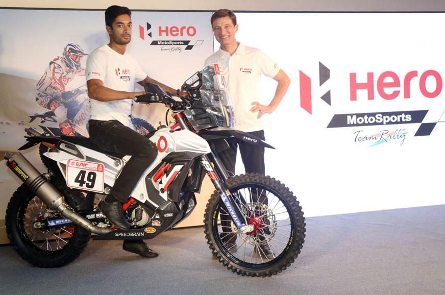 Hero RR 450 showcased in India