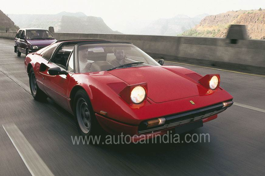 This 308, owned by a classic car collector in Mumbai, is ...