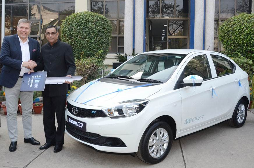 First batch of Tata Tigor EVs delivered to EESL