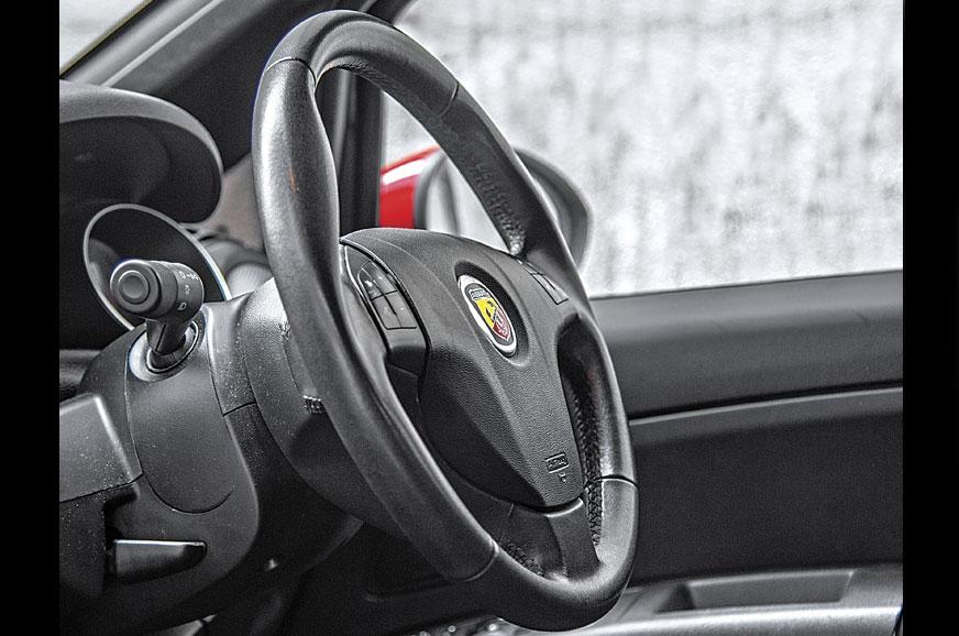 HYDRAULIC FEEL: The steering's so good, it feels like you...