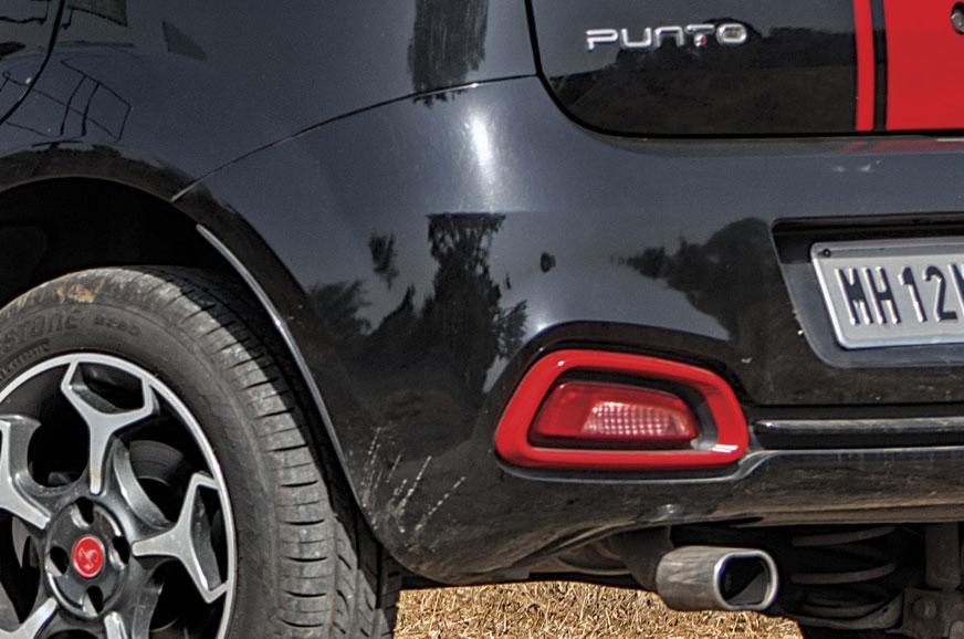 NO REVERSING SENSORS: Poor rear visibility and small rear...
