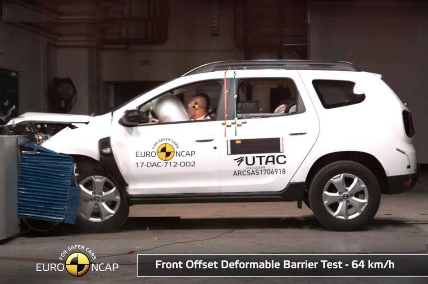 2017 Dacia Duster scores three stars in Euro NCAP