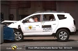 2017 Dacia Duster scores three stars in Euro NCAP