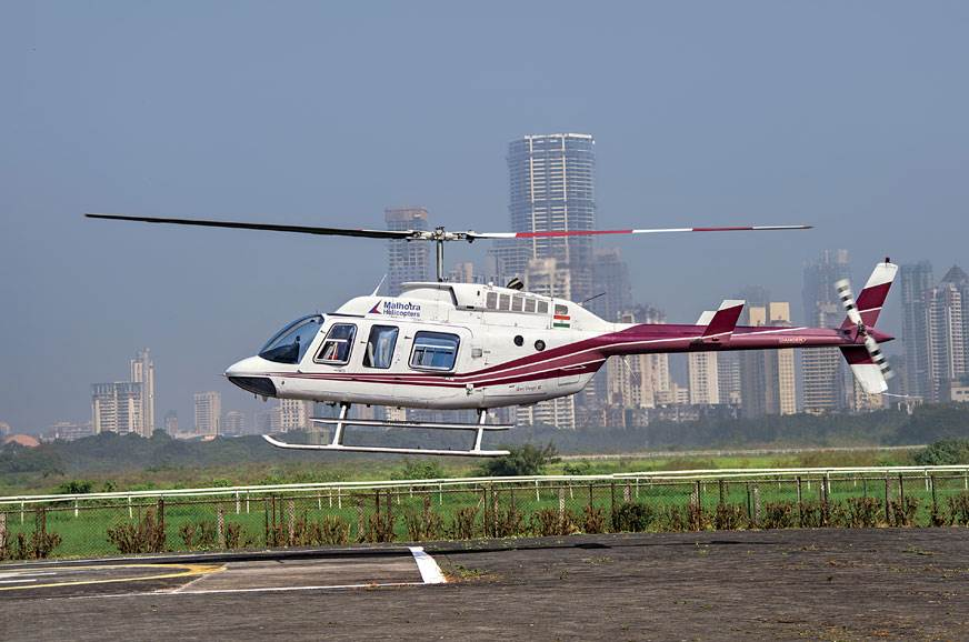 The Bell 206 is among the most popular turbine helicopter...