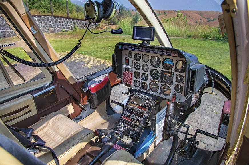Unlike aircrafts, where the pilot-in-command sits on the ...