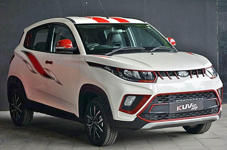 Mahindra had given the KUV100 a facelift earlier this year.